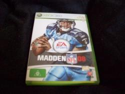 Madden NFL 08 Xbox 360 game NM on handshake