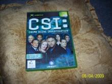 CSI Crime Scene Investigation  xbox game nm