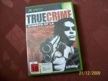 True Crime Streets of LA  xbox game