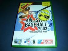 ALL-STAR BASEBALL 2003  for XBOX