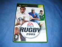 Rugby 2005 EA Sports  Xbox game English cover