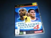 Pro Evolution Soccer 4  for xbox nm