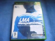 LMA Manager 2004  for XBOX