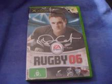 Rugby 06 xbox signed by Daniel Carter!!!