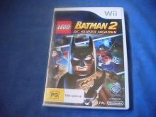 LEGO BATMAN 2 DC Super Heroes   Wii game