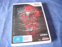 SPIDER-MAN 3     Wii game