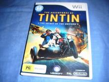 Adventures of Tintin The Secret of Unicorn  Wii game