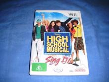 Disney High School Musical Sing It!   Wii game