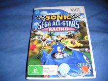 Sonic & SEGA All-Stars Racing   Wii game  nm