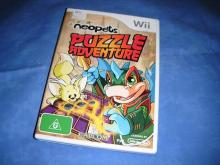 neopets PUZZLE ADVENTURES   Wii game