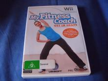 My Fitness Coach Get in Shape   Wii game NM