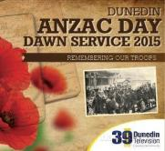 Dunedin ANZAC Dawn Service 2015