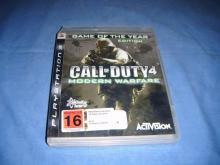 Call of Duty 4: Modern Warfare  PS3 Game GOTY