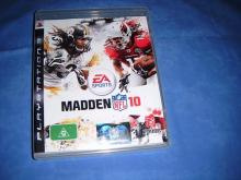 MADDEN NFL 10   PS3 game