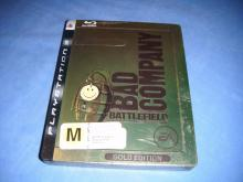 Battlefield: Bad Company Gold Edition Tin Case PS3 Game