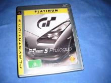 GRAN TURISMO 5 Prologue  PS3 game  P