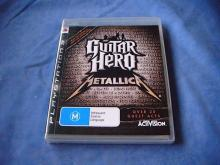 GUITAR HERO METALLICA PS3 Game