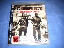Conflict: Denied Ops PS3 Game  xr