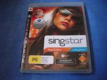 SingStar Pop Edition    PS3 game