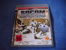 Socom Confrontation PS3 Game*online not supported