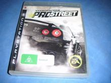 NEED FOR SPEED  PRO STREET Prostreet PS3