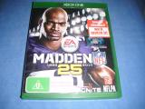 MADDEN  NFL 25  XBOX ONE in Canterbury