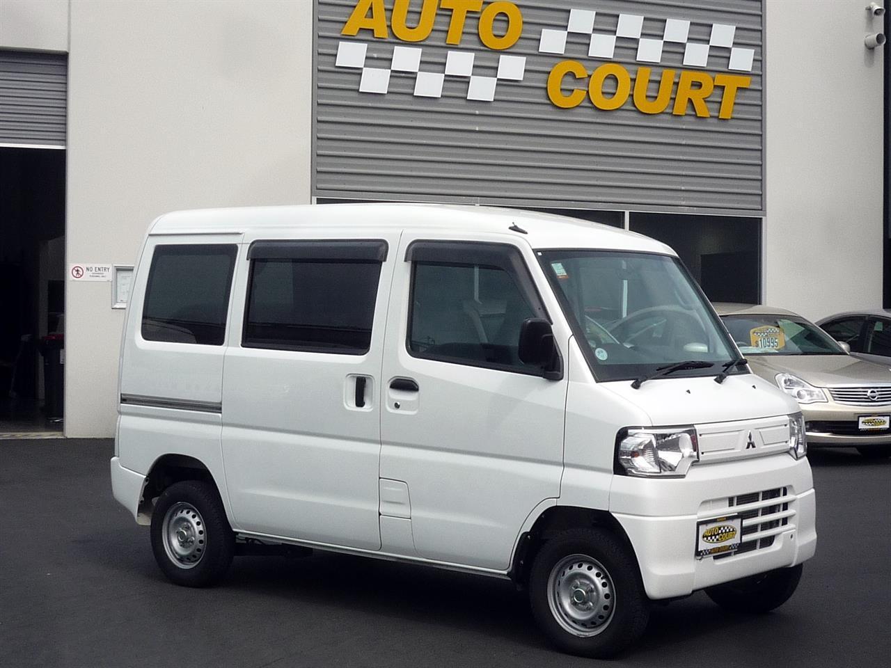 image-0, 2013 Mitsubishi MiniCab MiEV Electric Van at Dunedin