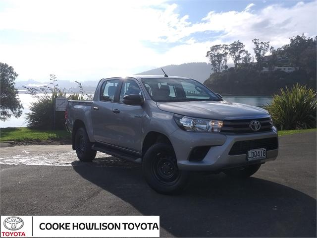 2018 Toyota Hilux 4WD SR DOUBLE CAB 4X4 for sale in Dunedin