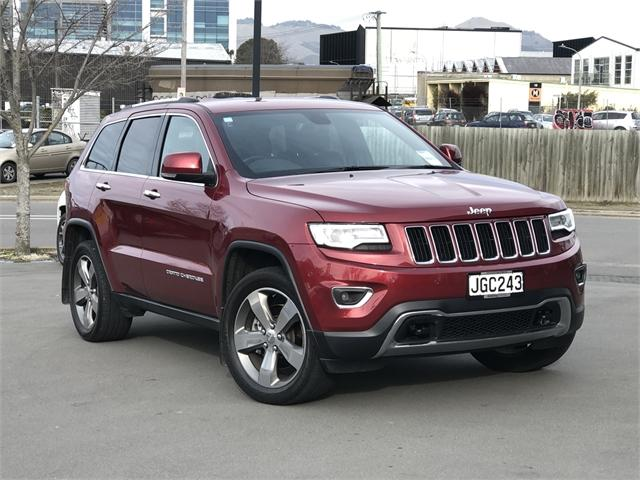 image-0, 2015 Jeep Grand Cherokee Limited 3.0Lt Diesel at Christchurch