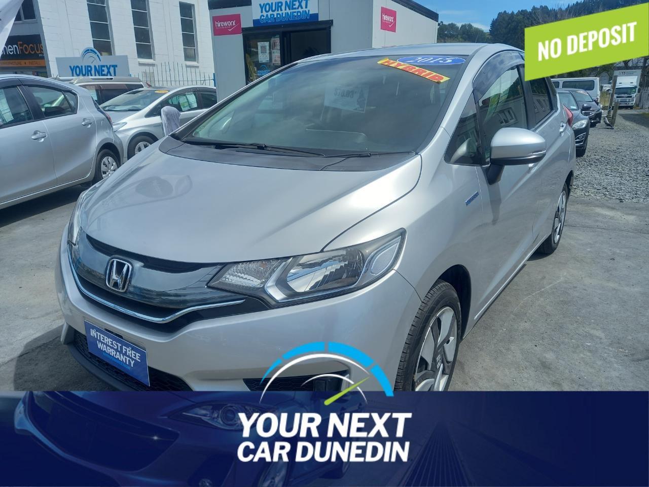 image-0, 2015 Honda Fit Hybrid No Deposit Finance at Dunedin