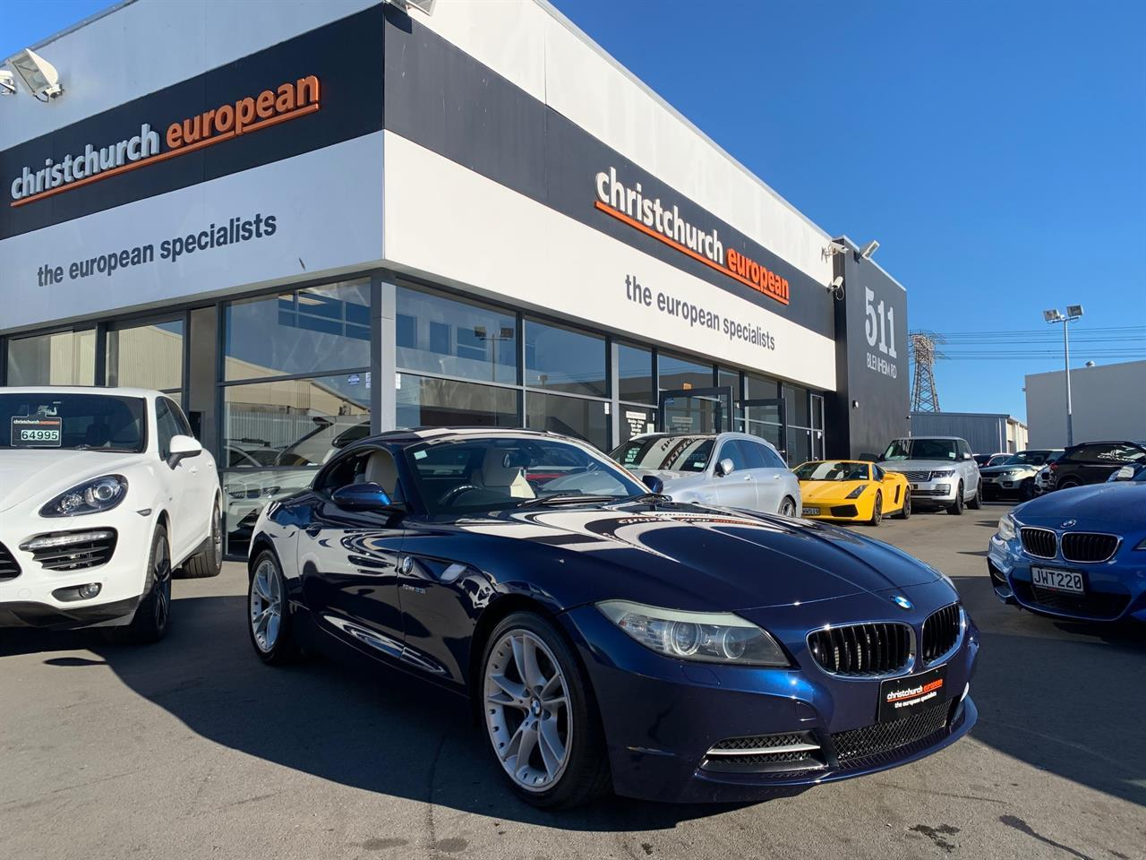 image-0, 2009 BMW Z4 SDrive Hardtop New Shape Convertible at Christchurch