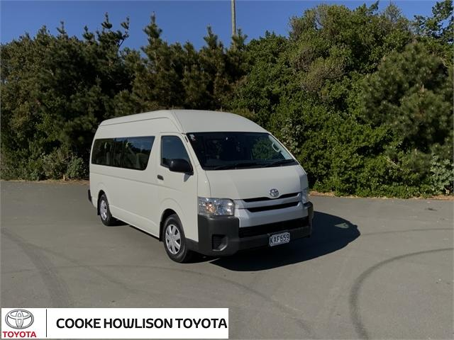 image-0, 2016 Toyota Hiace MINIBUS RWD 3.0TD VAN/4 4A - 12S at Dunedin