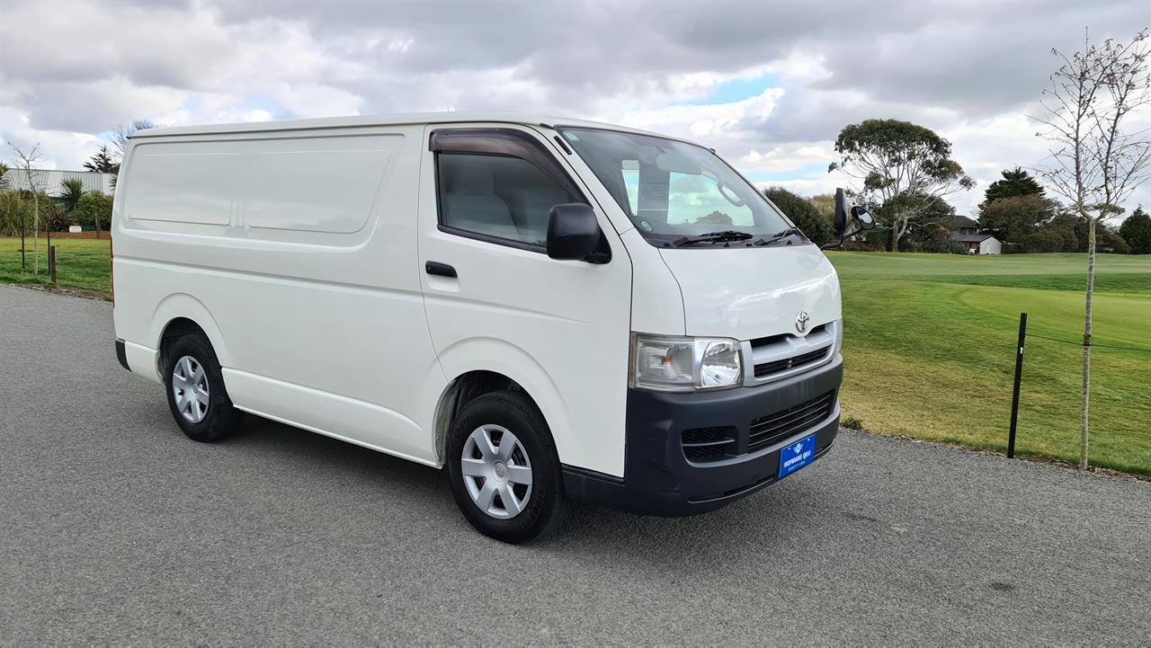 image-0, 2004 Toyota Hiace Panel Van at Christchurch