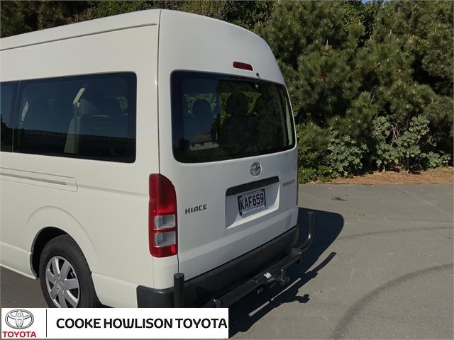 image-5, 2016 Toyota Hiace MINIBUS RWD 3.0TD VAN/4 4A - 12S at Dunedin