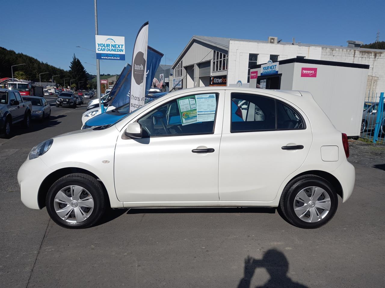image-7, 2016 Nissan March S Low Km's No Deposit Finance at Dunedin