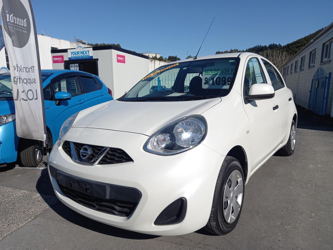 image-3, 2016 Nissan March S Low Km's No Deposit Finance at Dunedin