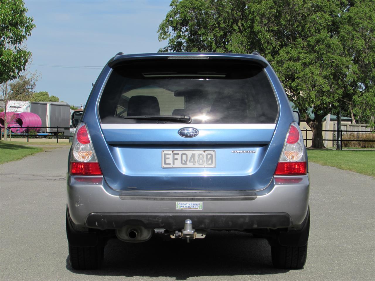 2007 Subaru Forester X LUX MANUAL on handshake