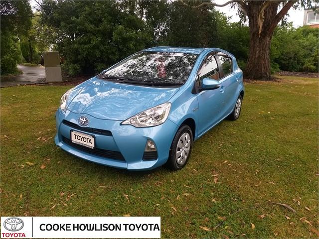 image-0, 2014 Toyota Aqua AQUA/PRIUS C at Dunedin