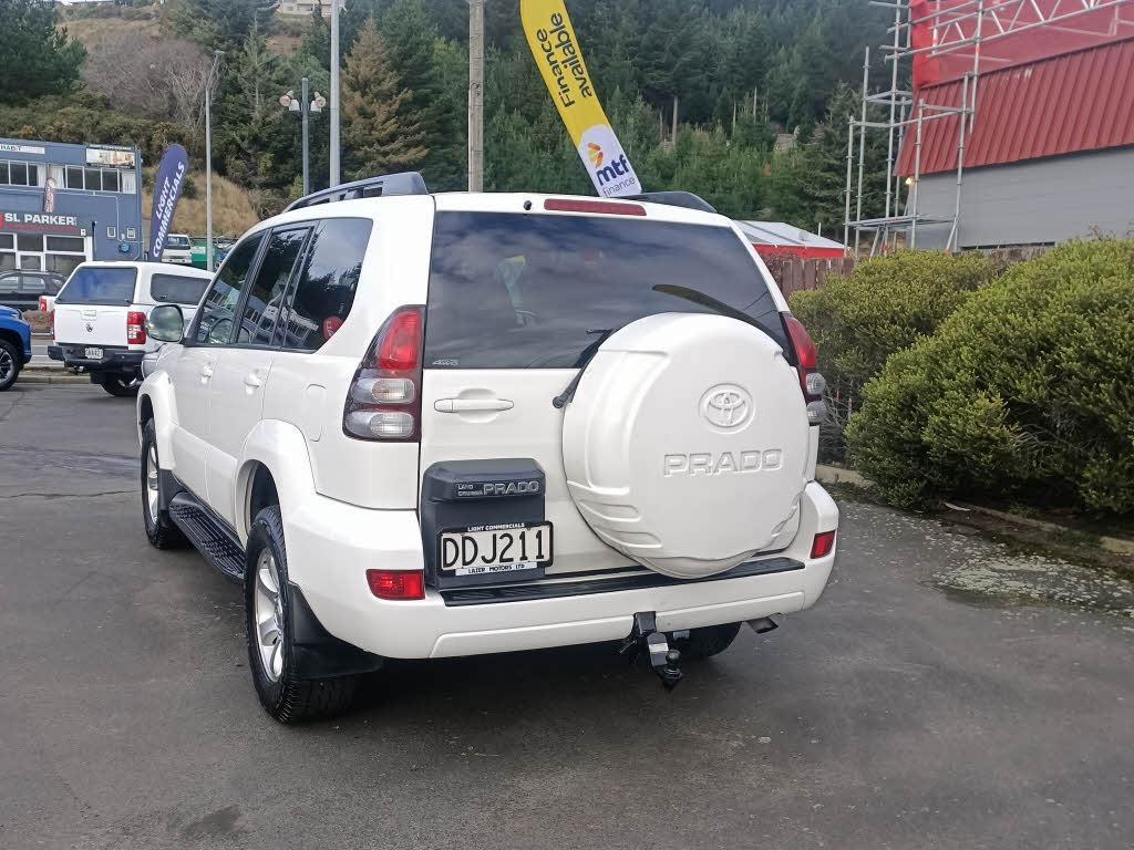 image-2, 2006 Toyota Landcruiser Prado 3.0DT 4WD VX W5 4A T at Dunedin