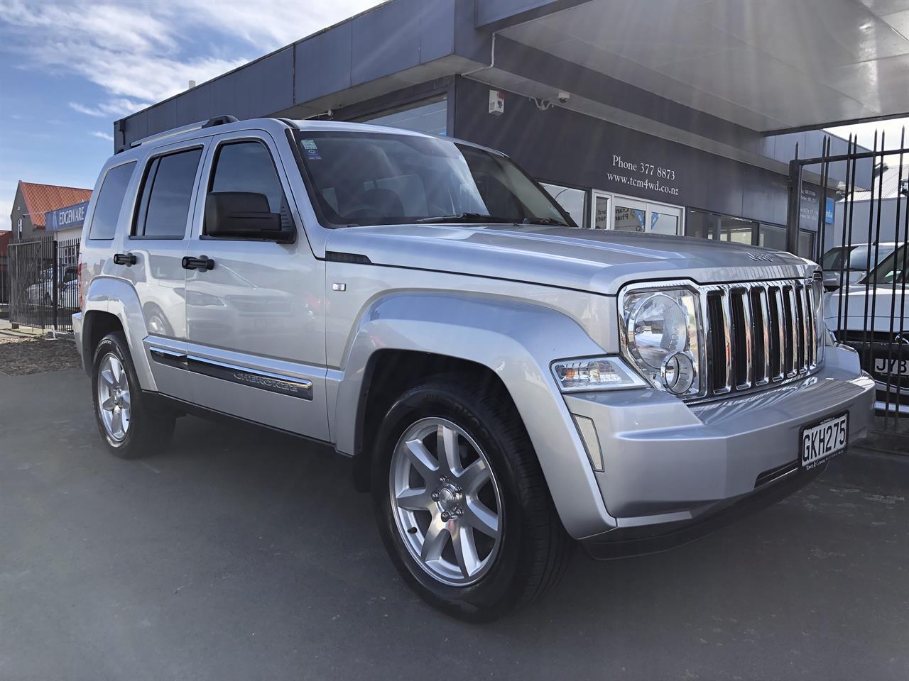 image-0, 2012 Jeep Cherokee KK Limited 3.7P at Christchurch