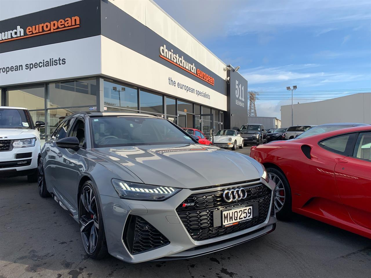 image-1, 2020 Audi RS6 4.0 V8T 441KW Launch Edition at Christchurch