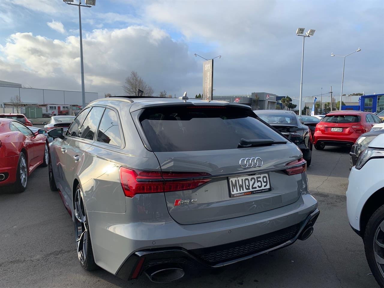 image-2, 2020 Audi RS6 4.0 V8T 441KW Launch Edition at Christchurch