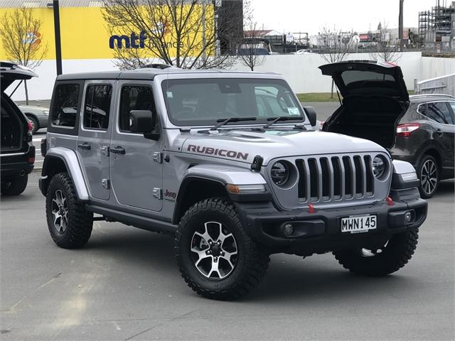 image-0, 2020 Jeep Wrangler Rubicon 3.6Lt Petrol at Christchurch