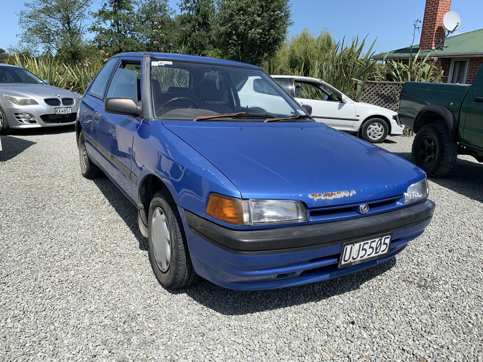 image-0, '93 Mazda 323 at Timaru