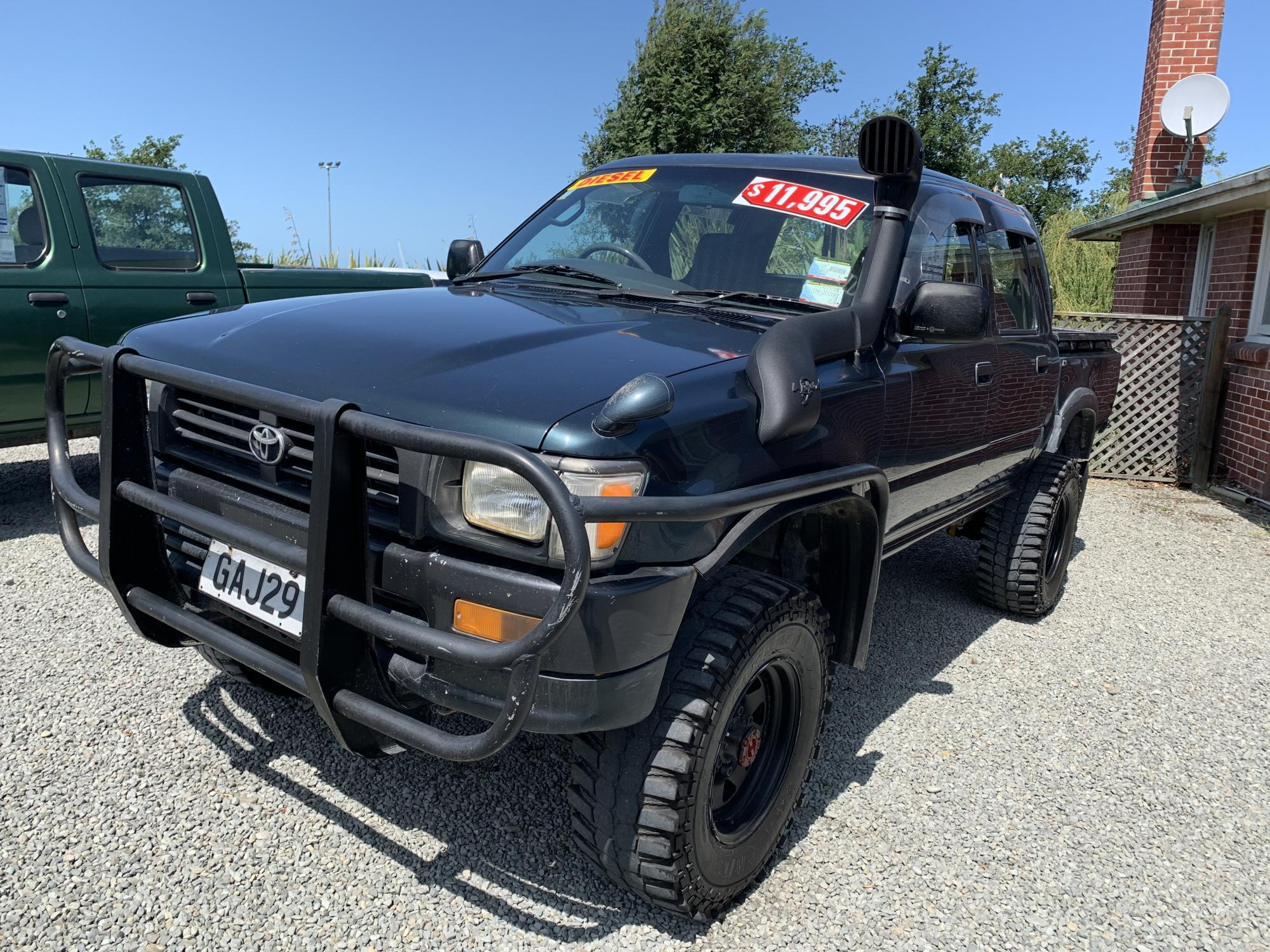 image-0, '95 Toyota Hilux Double Cab  at Timaru