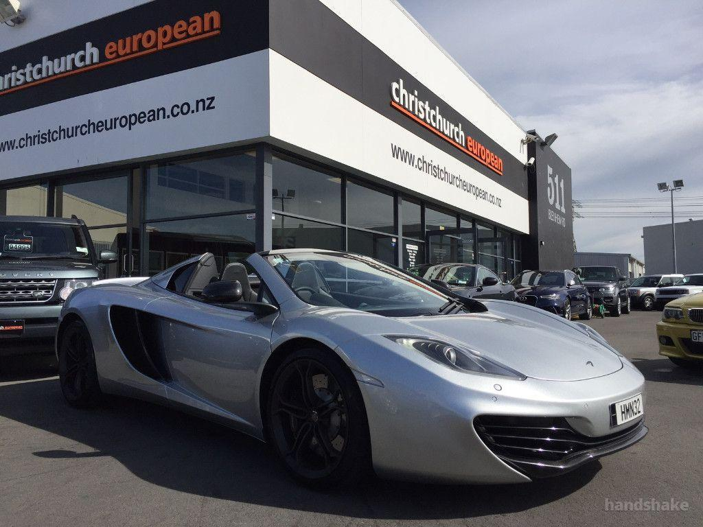 Image 0, 2014 McLaren MP4 12C Spider At Christchurch ...