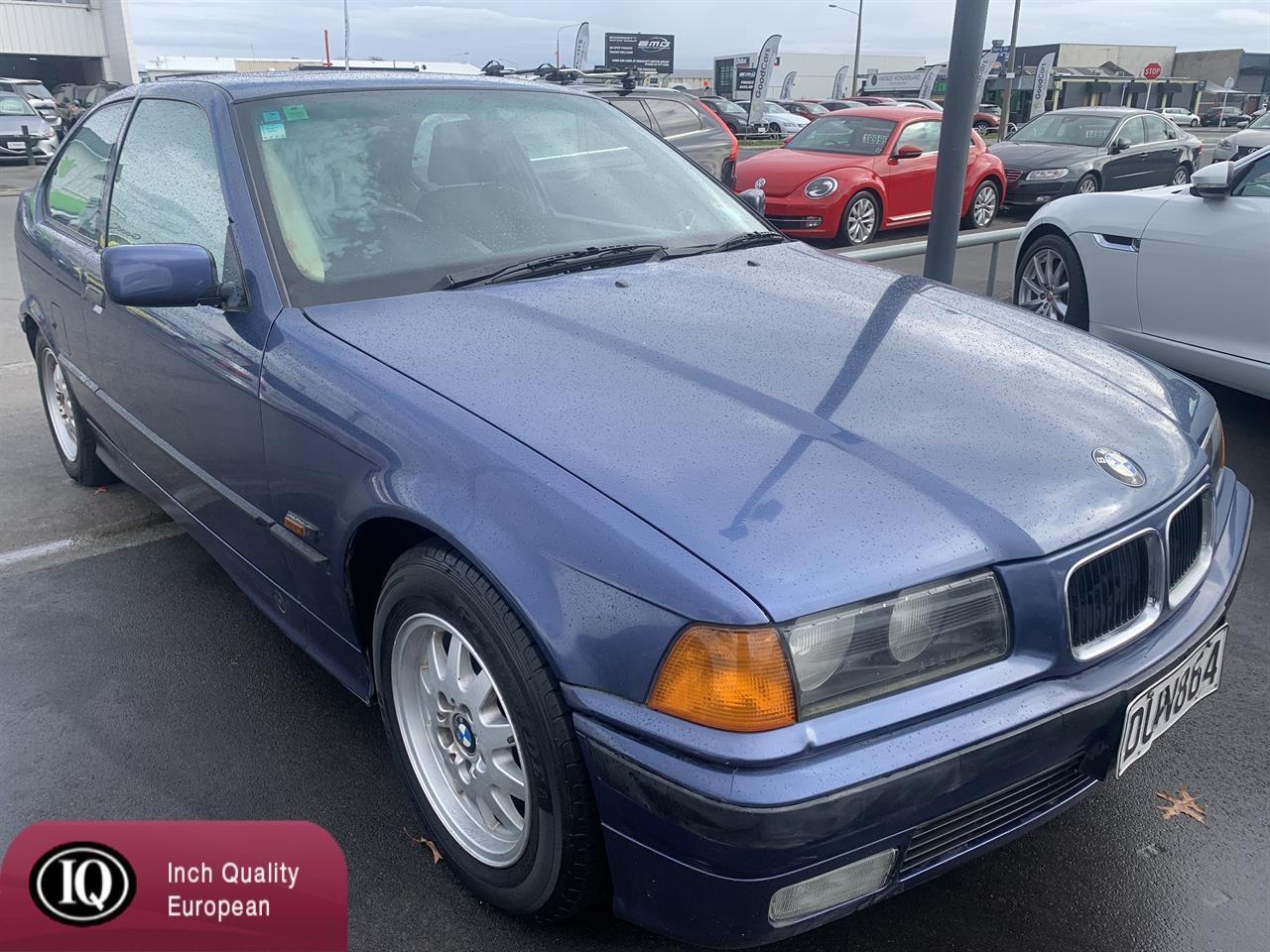 image-0, 1996 BMW 318Ti at Christchurch