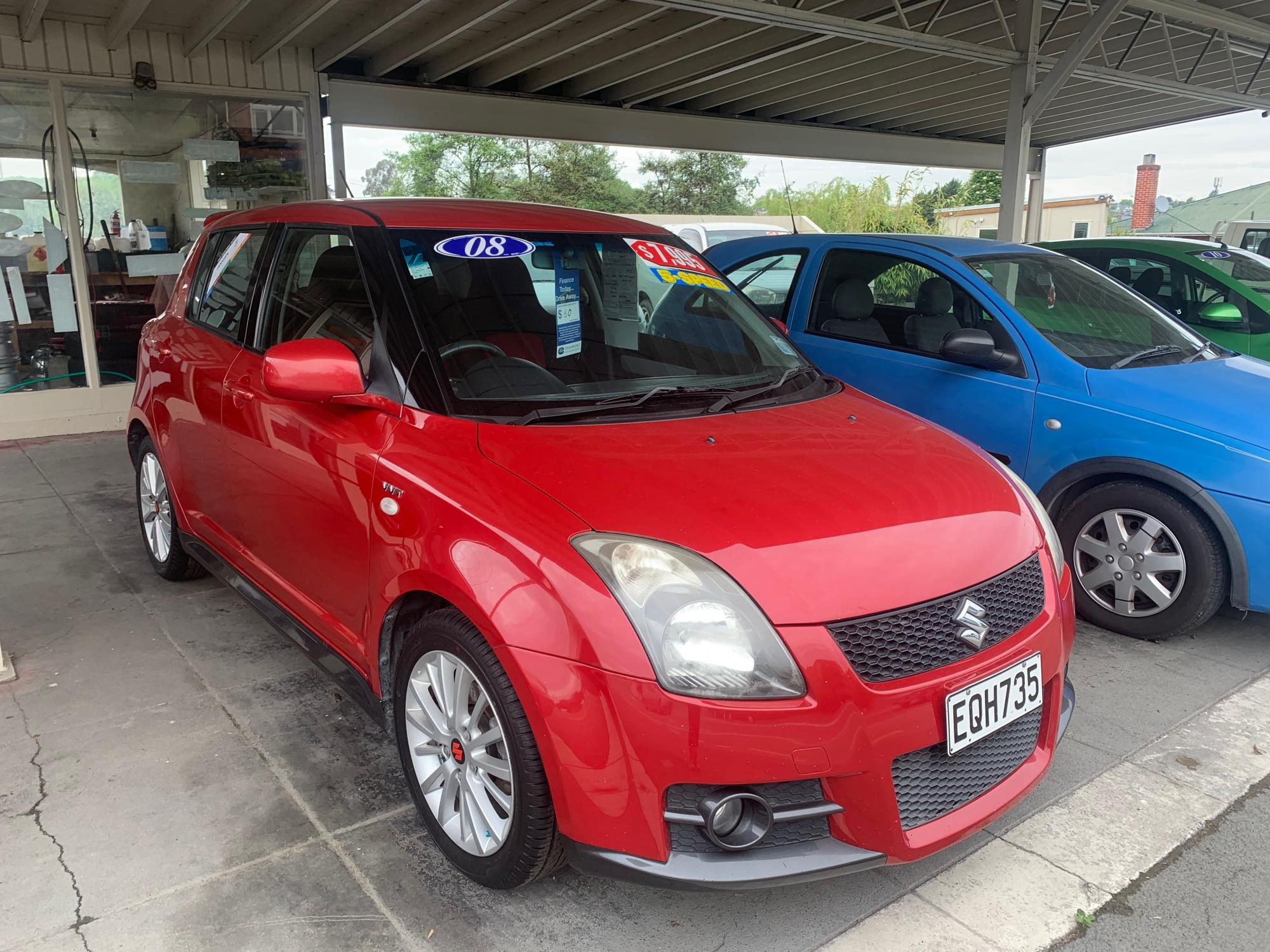 image-0, '08 Suzuki Swift Sport  at Timaru