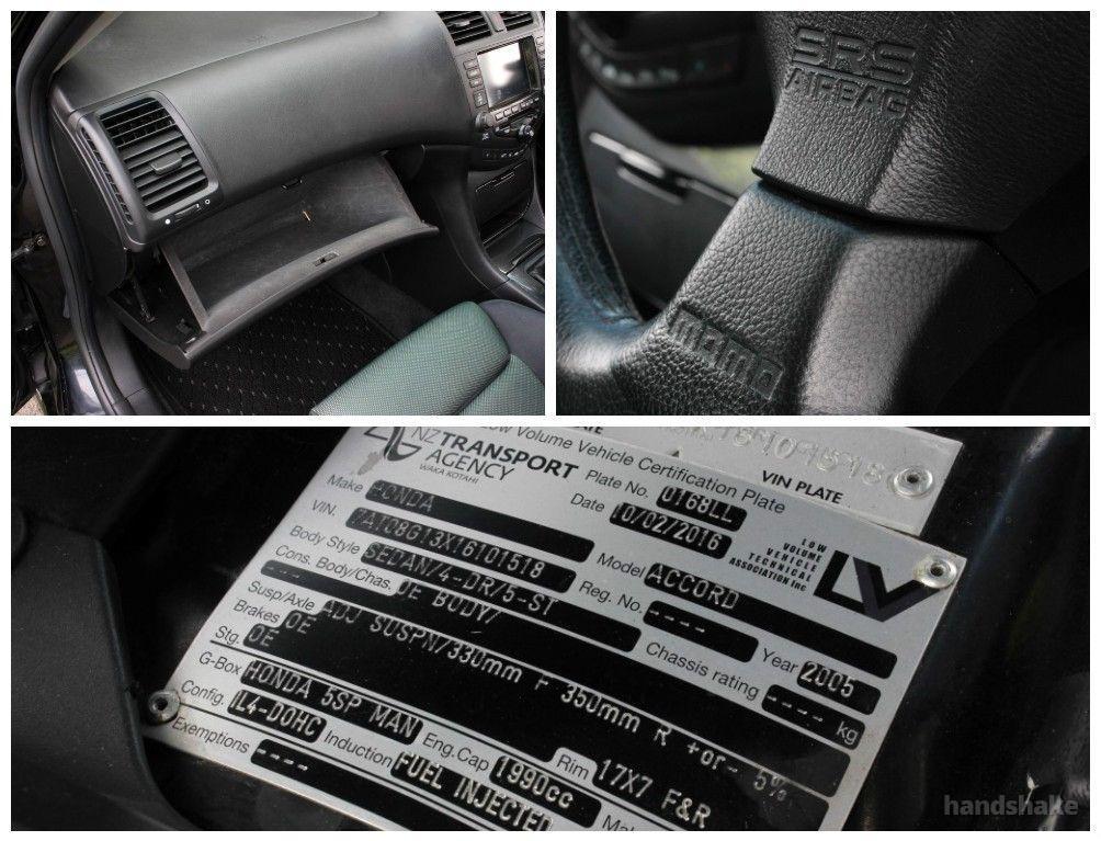 2005 Honda Accord Euro R K20A DOHC Get in the Driv