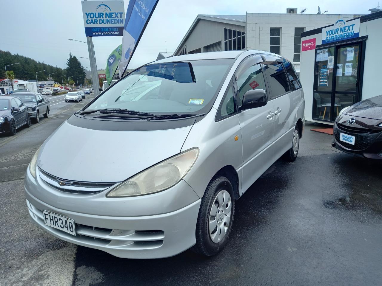 image-5, 2001 Toyota Estima 8 Seats No Deposit Finance at Dunedin